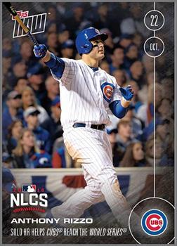 MLB Chicago Cubs Anthony Rizzo #616 2016 Topps NOW Trading Card