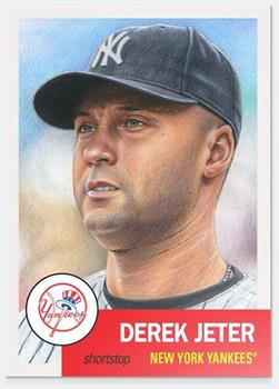 NY Yankees MLB Derek Jeter Topps Living Set Card #10