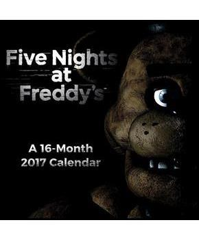 "Five Nights At Freddy's 2017 7""x7"" Mini Calendar"