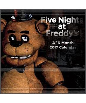"Five Nights at Freddy's 2017 12""x12"" Wall Calendar"