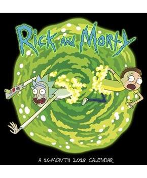 Rick and Morty 2018 Wall Calendar