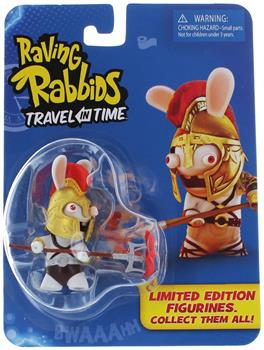 "Raving Rabbids ""Travel in Time"" 2.5"" Mini Figure: Gladiator Rabbid"