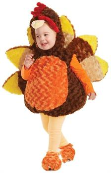 Belly Babies Holiday Turkey Costume Child Toddler