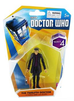 "Doctor Who 3.75"" Action Figure: 12th Doctor (Purple Shirt/ Jacket)"