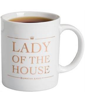 "Downton Abbey ""Lady of the House"" 11oz Mug"