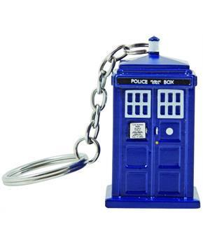 Doctor Who TARDIS Key Chain Flashlight