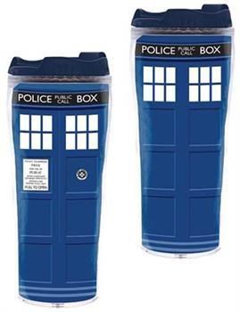 Doctor Who TARDIS 12oz. Insulated Travel Mug