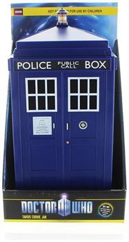 Doctor Who Tardis Cookie Jar with Lights and Sounds