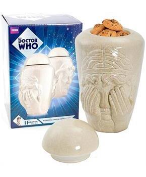 Doctor Who Weeping Angel Ceramic Cookie Jar