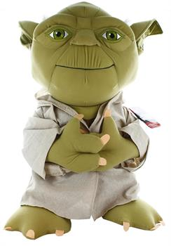 "Star Wars Super Deluxe 24"" Talking Plush: Yoda"