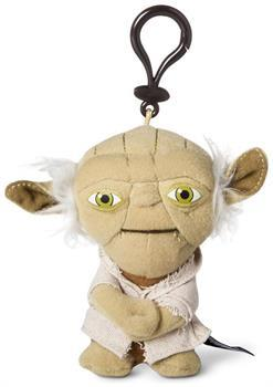 "Star Wars 4"" Mini Talking Plush Clip On: Yoda"