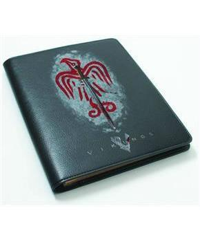 Vikings Notebook - Pleather Grey Sword