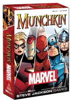 Marvel Edition Munchkin Card Game