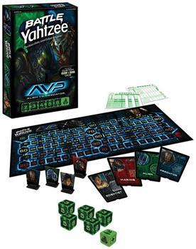 Alien vs Predator Battle Yahtzee Dice Game