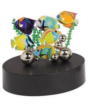 Desktop Magnetic Art Sculpture: Tropical Fish
