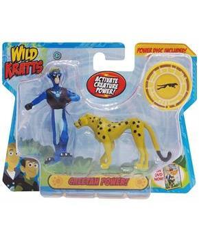 Wild Kratts Animal Power 2-Pack Figure Set: Cheetah Power