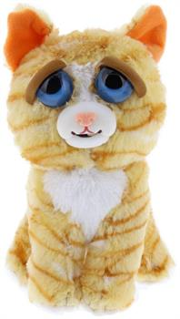 "Feisty Pets 8"" Plush, Princess Pottymouth the Cat (Derpy Face)"