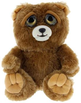 "Feisty Pets 8"" Plush, Sir Growls-A-Lot the Bear (Derpy Face)"