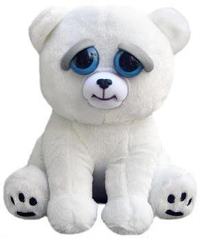 "Feisty Pets Karl The Snarl Polar Bear 8"" Plush"
