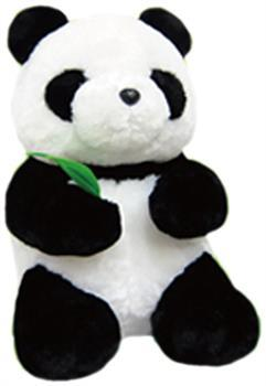 "Prime Plush 12"" Stuffed Animal Standing Panda"