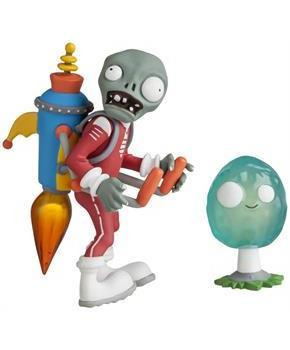 "Plants vs Zombies 3"" Action Figure: Future Jetpack Zombie with Infinut"
