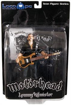 "Motorhead Lemmy Kilmister 7"" Icon Figure Guitar Black Pick Guard"