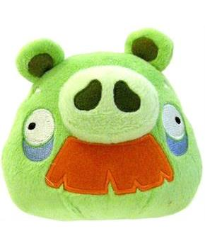 "Angry Birds 16"" Deluxe Plush With Sound: Grandpa Pig"