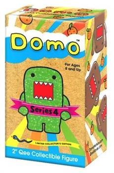 "Domo 2"" Qee Mystery Figure Series 4 Single Blind Box"