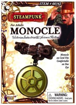 Steampunk Monocle Costume Eyewear Accessory
