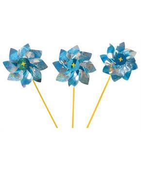 Jumbo Mylar Pinwheels (Include 12 Units)