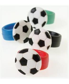 Soccer Rubber Rings (Include 12 Units)