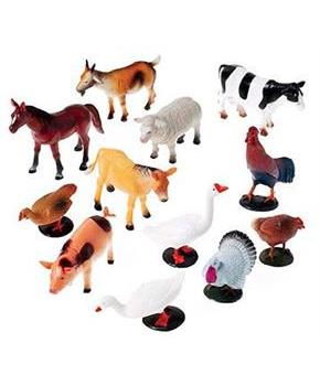 Farm Animals (Include 12 Units)