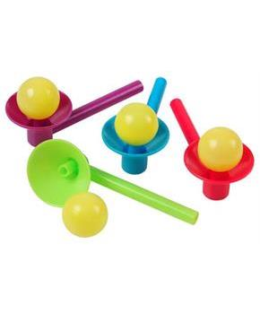 Blow Cup And Ball Games (Include 12 Units)
