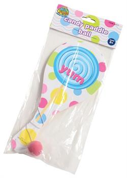 Candy Paddle Balls (Include 12 Units)