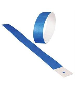 Adhesive Event Bands/Blue 100-Pc (Include 100 Units)
