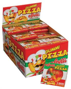 Gummy Pizza/48-Bx (Include 48 Units)