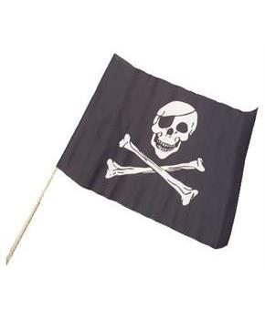 Pirate Flags/12X18-Cloth (Include 12 Units)