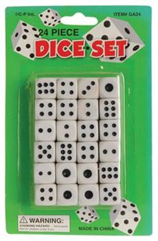 Dice/24-Pk (Include 24 Units)