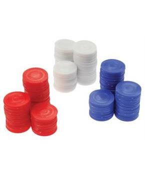 Red Poker Chips/100-Bg (Include 100 Units)