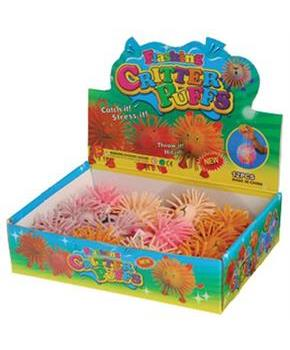 Puffer Animals/3 Inch (Include 12 Units)