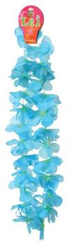 Two Tone Large Petal Leis/Turquoise (Include 12 Units)