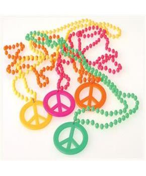 Peace Sign Necklaces (Include 12 Units)
