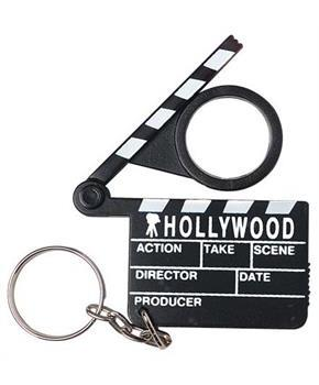 Hollywood Clapboard Keychains (Include 12 Units)