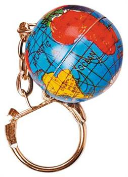 Globe Keychains (Include 12 Units)