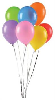 Asst Balloons/6 In (Include 144 Units)