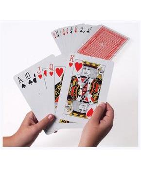 Giant Playing Cards (Include 1 Units)