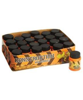 Construction Mini Bubbles/24-Bx (Include 24 Units)