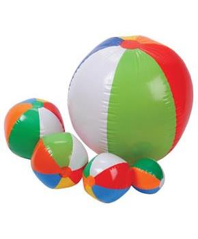 Traditional Beachball Assort/12 Pc (Include 1 Units)
