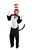 Dr. Seuss Cat In The Hat Deluxe Adult Costume
