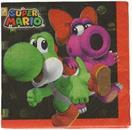 Super Mario Bros. Beverage Napkins, 16 Count